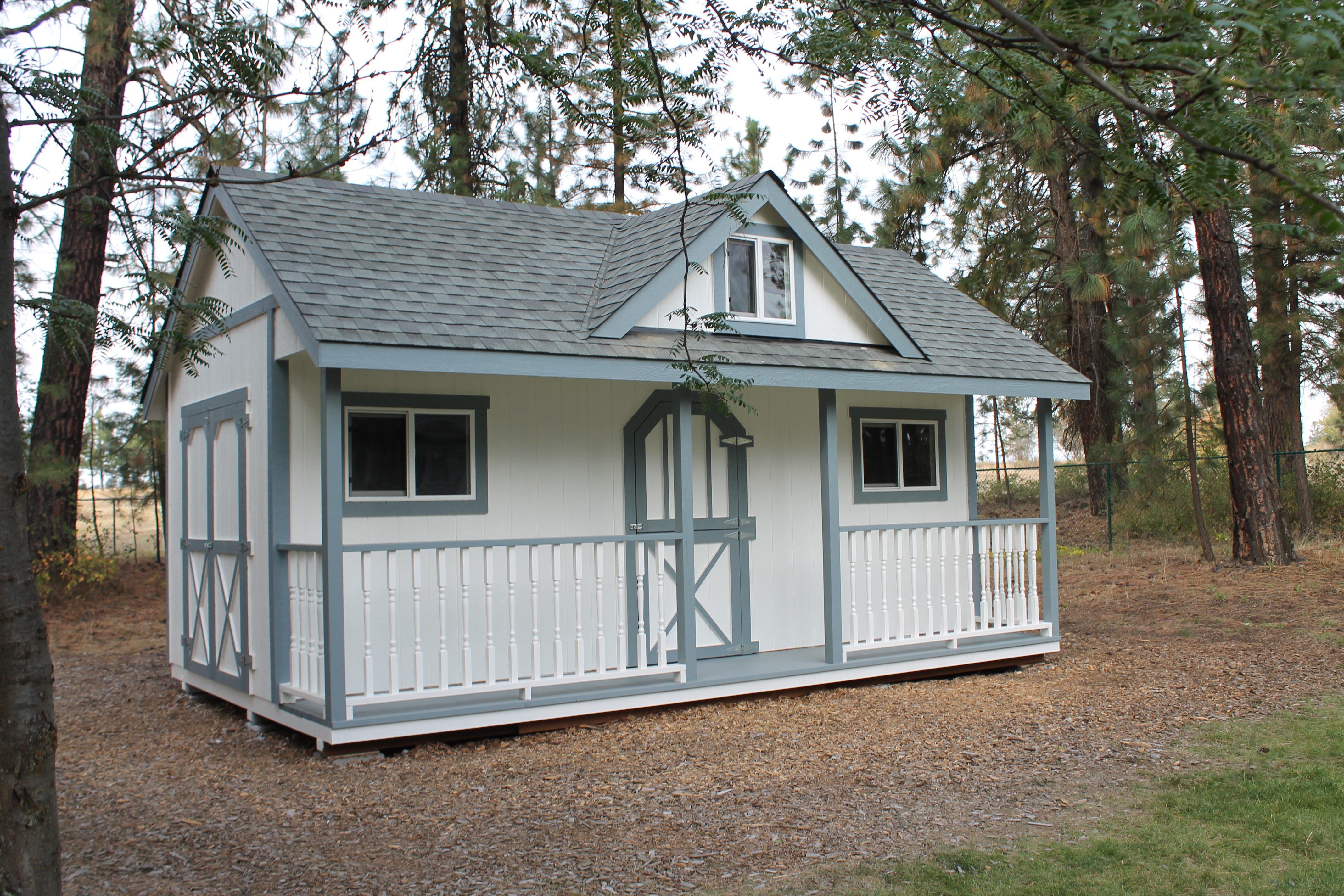Custom victorian shed spokane wa paul 39 s all wood for Custom victorian homes