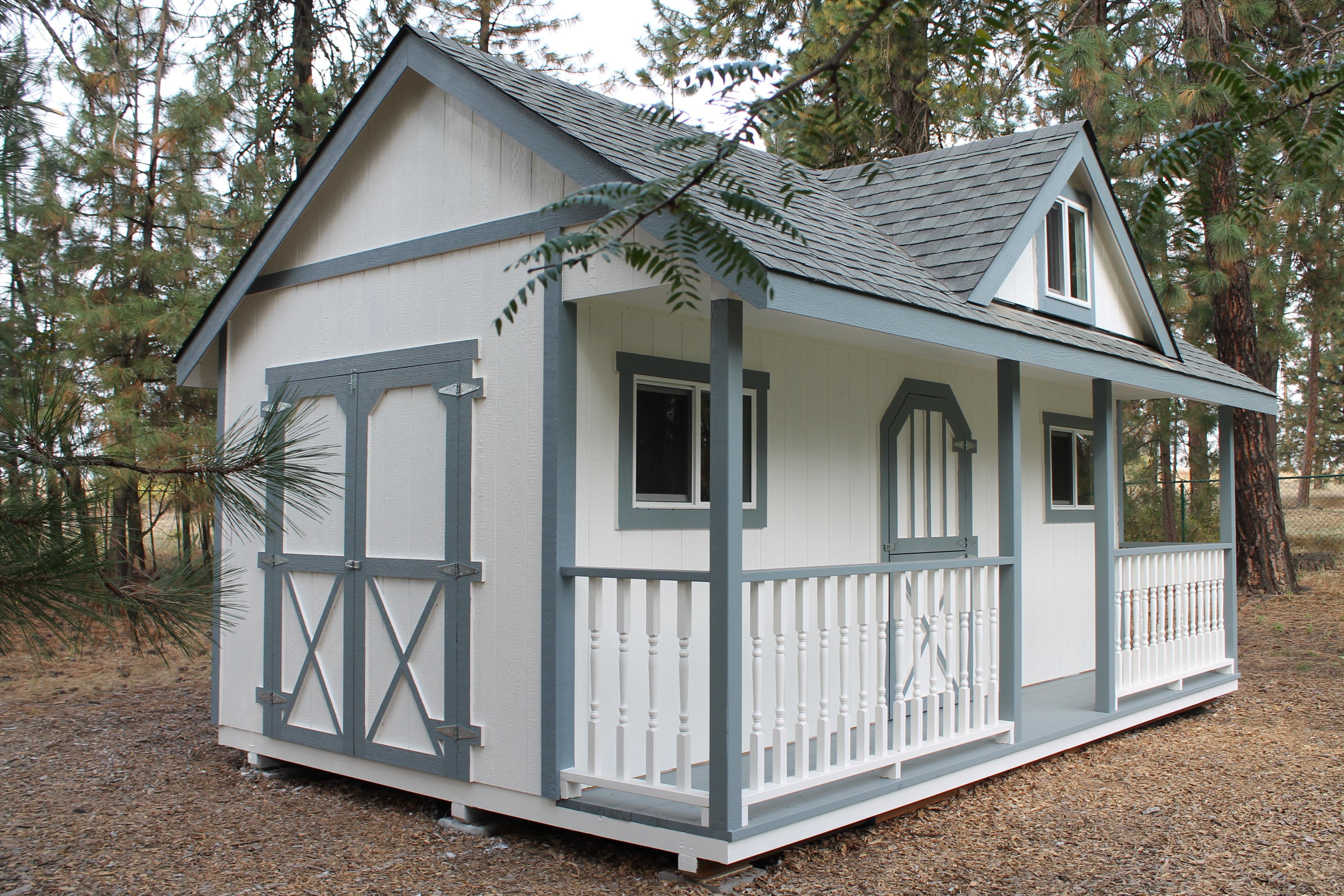 Wood Sheds Spokane Shed Plans Ideas
